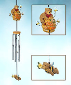 Bee Happy Wind Chime