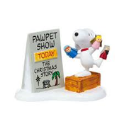 Snoopy Pawpet Show