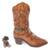 Cash's Boot with Whiskey McNibble