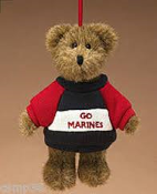 Go Marines ornament