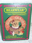 Autumn Harvestbeary pin