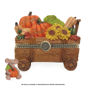 Ashton's Harvest Wagon with Pumpkin McNibble