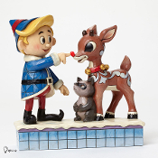 Hermey Touching Rudolph's Nose