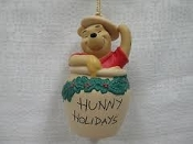 Hunny Holidays ornament