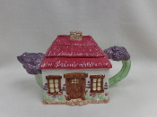 Vintage Garden Cottage Tea Pot