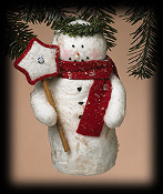 Winter Friend Snowman ornament