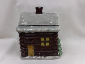 Holiday Home Cookie Jar
