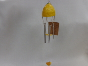 Lemon Yellow Wind Chime