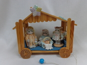 Calico Kitten Nativity