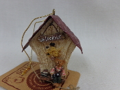 Audie birdhouse orn.