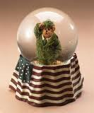 Billy Bearyproud Waterglobe