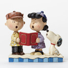 Charlie Brown, Lucy & Snoopy Carolers